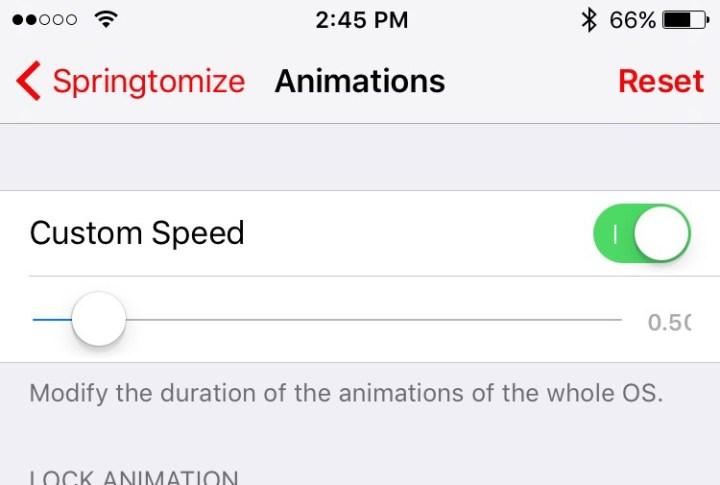 Speed Up Animations