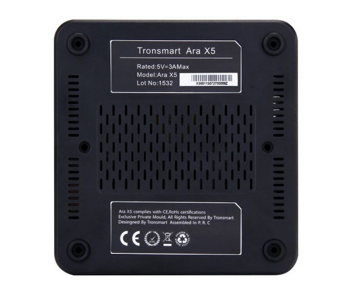 tronsmart ara x5 bottom