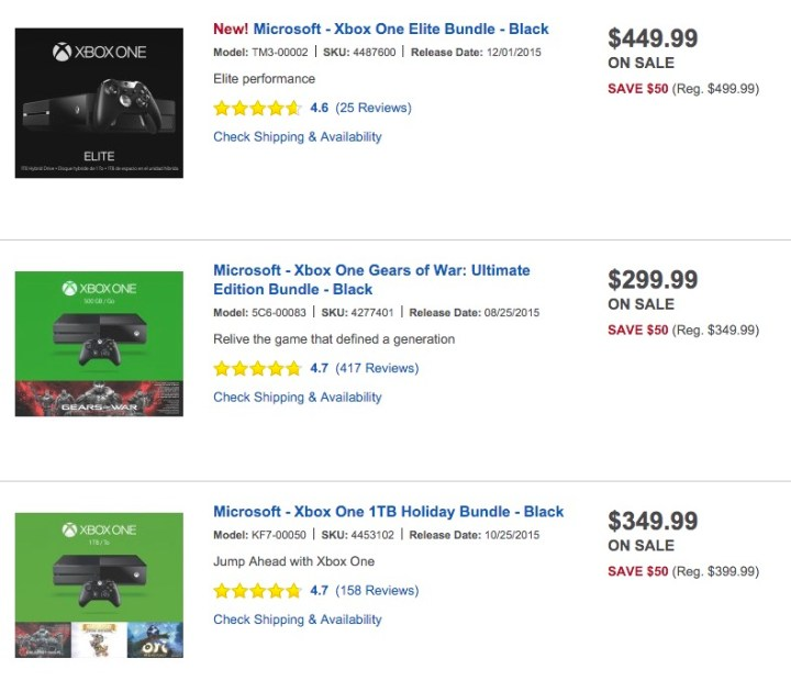 Save big with a limited time Xbox One deal at Best Buy.