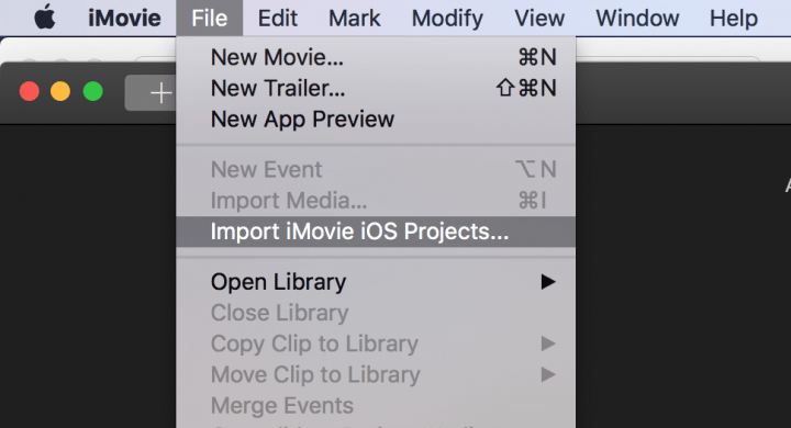 import imovie ios projects