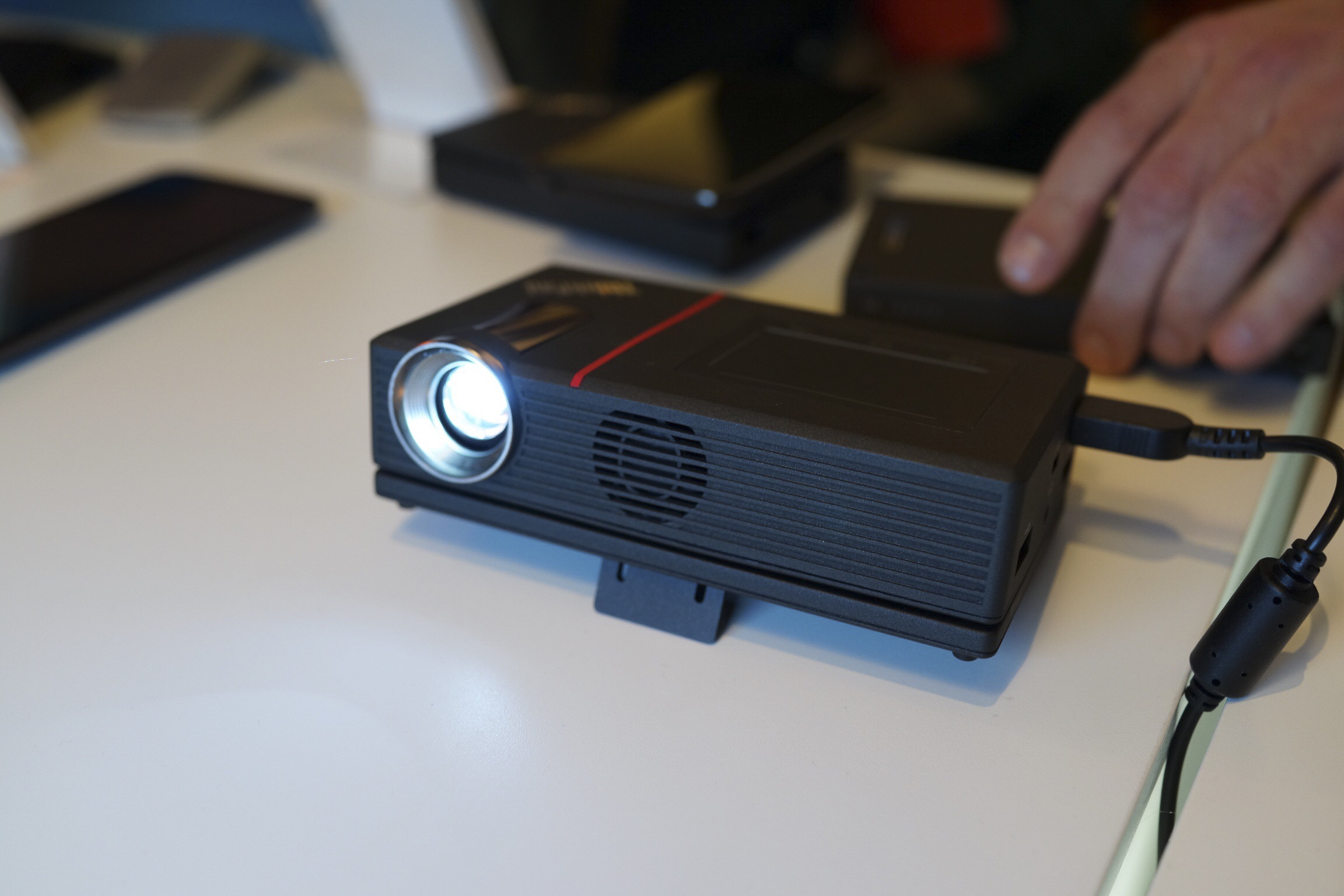 Lenovo ThinkPad Stack Picks Up Charger & Projector