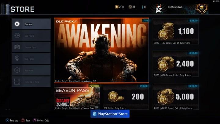How to Download Awakening Black Ops 3 DLC