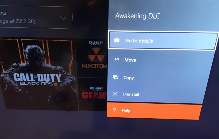 Delete Black Ops 3 DLC Xbox One Awakening - 4