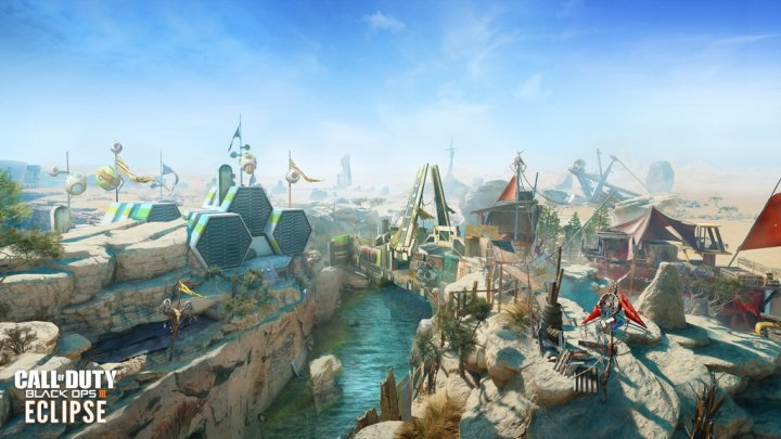 Verge Map - Eclipse Black Ops 3 DLC 2 Remake