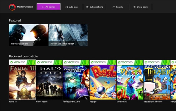 March Xbox One Update (1)