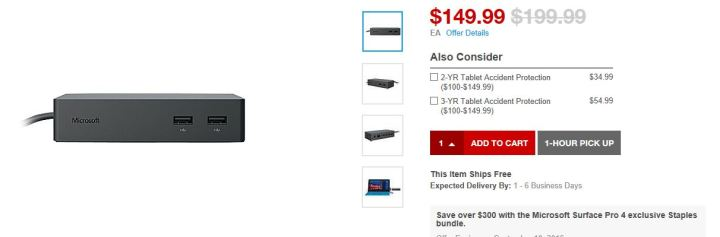 Surface Pro 4 Deal - Discounting Dock