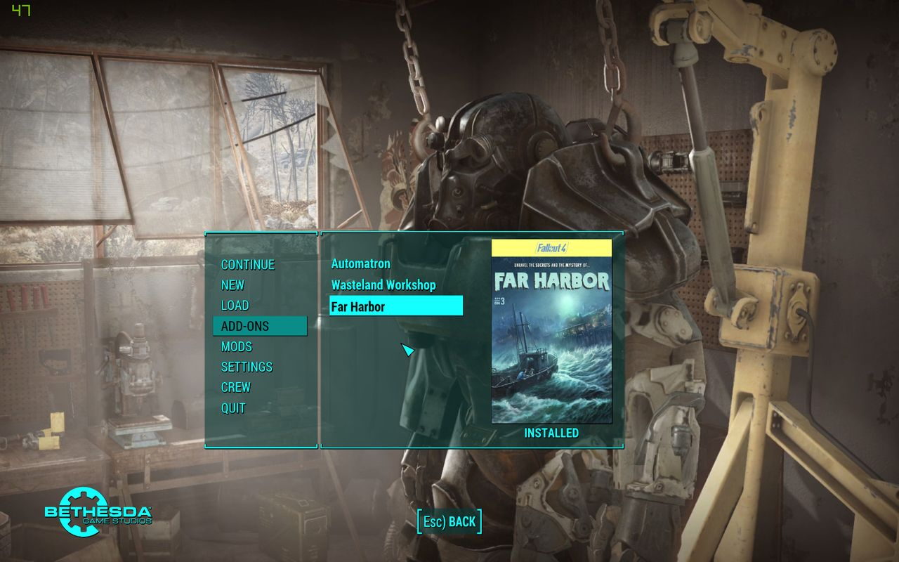 Fallout 4's Far Harbor DLC launches May 19