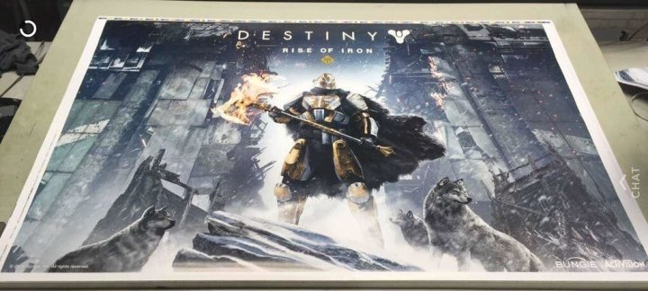 The Destiny Rise of Iron posted leaked by the a member of the DestinyTheGame Community
