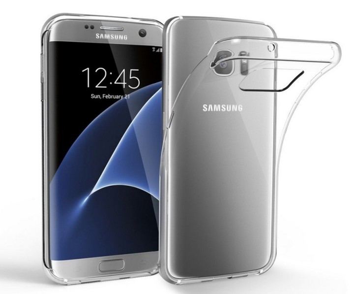 EasyAcc Galaxy S7 Edge Clear TPU Case