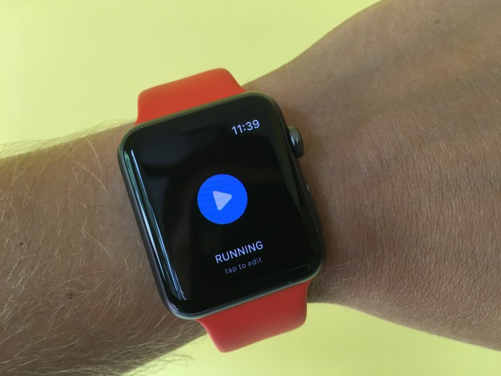 Wait for GPS in the Apple Watch 2