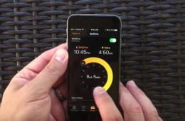 Bedtime alarm iOS 10