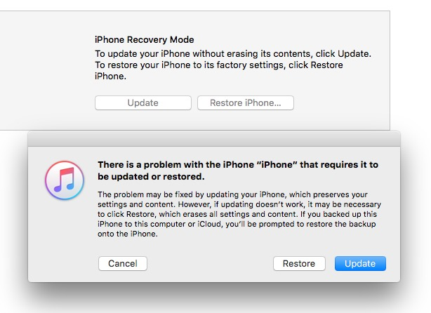 How to fix a bricked iPhone form the iO S10 update.