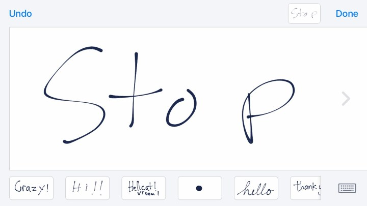 Learn how to turn off iOS 10 handwriting in landscape.