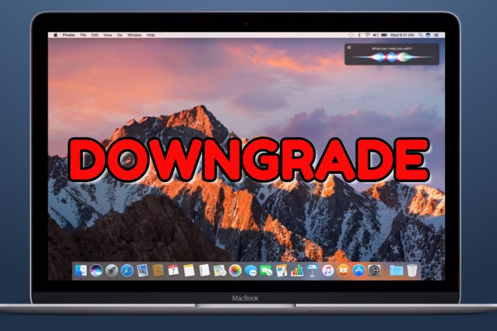 How to downgrade to OS X El Capitan from macOS Sierra.