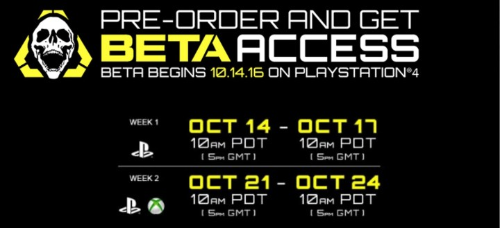 What you need to do to sign up for the Call of Duty: Infinite Warfare beta.