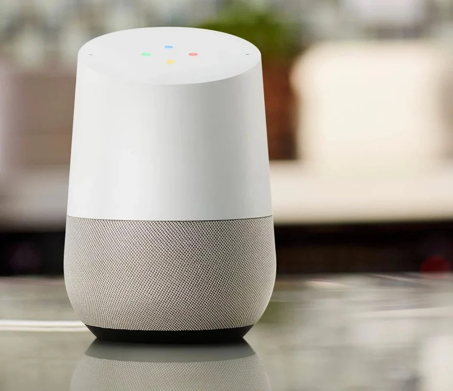 Google Home Change Room