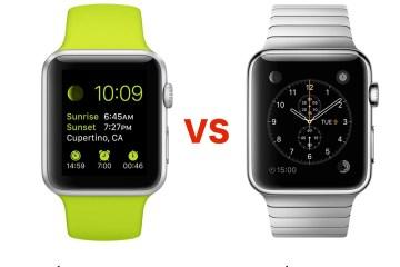 Apple Watch Sport vs Apple Watch