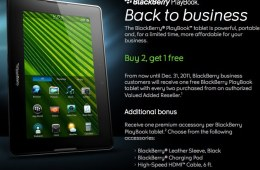 BlackBerry - PlayBook Order