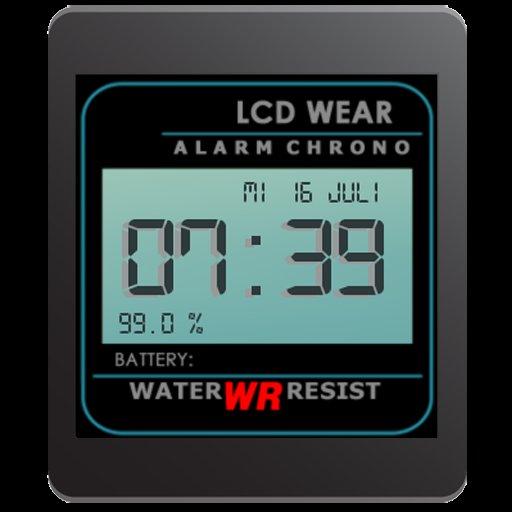 wear lcd watchface beta