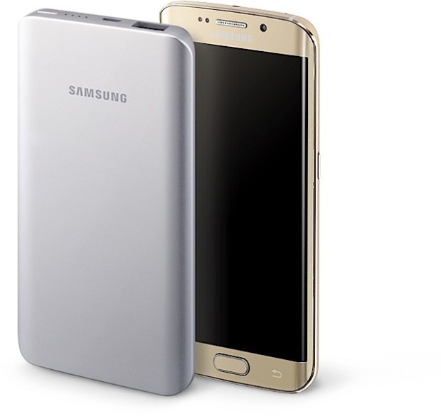 Charge up the Galaxy S6 with this battery pack.