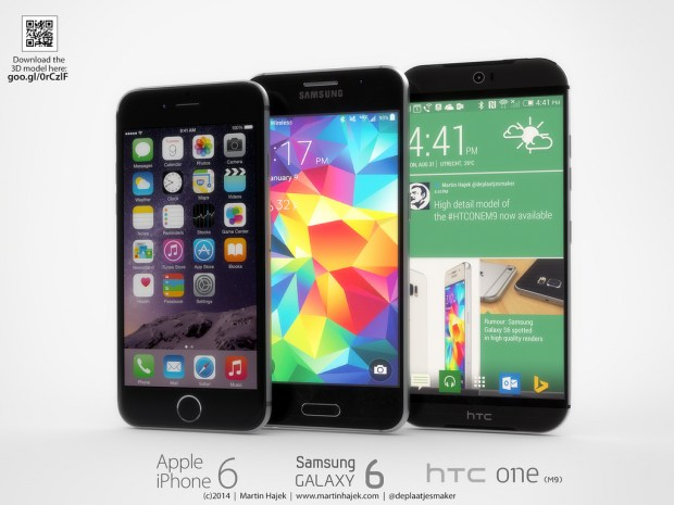 Learn how the Samsung Galaxy S6 vs HTC One M9 comparison stacks up based on rumors.