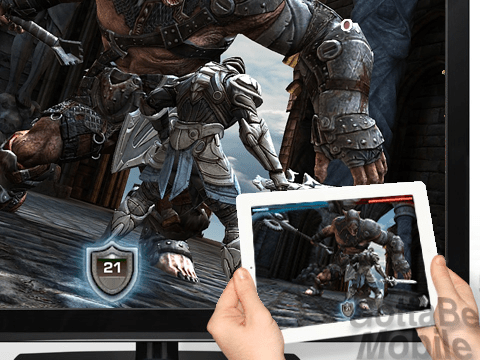 Infinity Blade Airplay