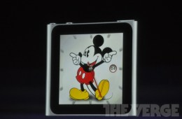 Ipod nano watch mickey mouse