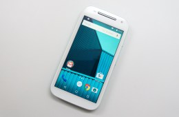The Moto E 2nd Gen display is bigger, but could use a resolution upgrade.