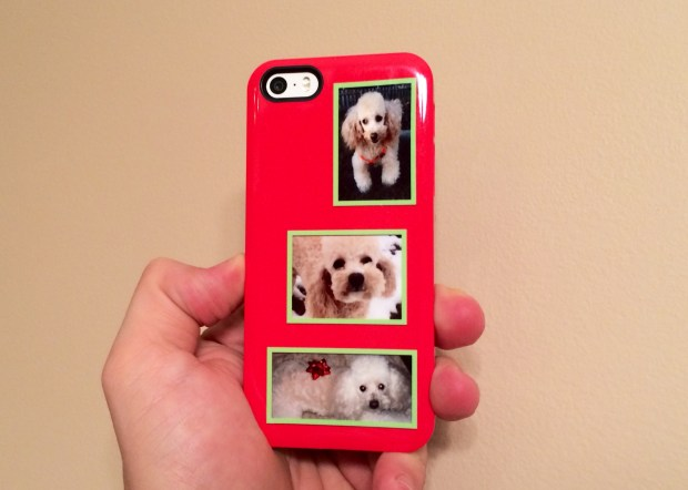 A personalized iPhone case makes a great gift.