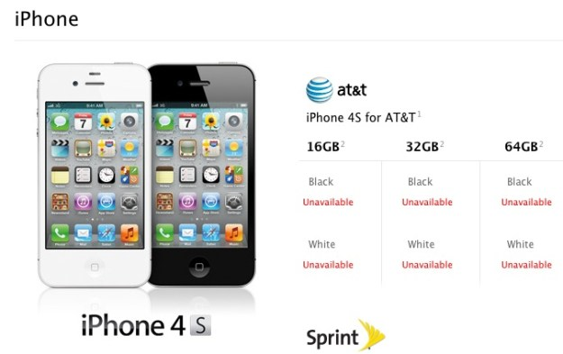 Reserve an iPhone 4S