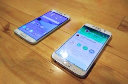 Expect a curved Galaxy S6 Edge and a regular GalaxY S6 display.