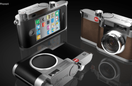LEICA i9 iPhone Camera Case Concept Design