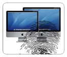 Is a thumbprint on the logo of a touchscreen company a good idea?