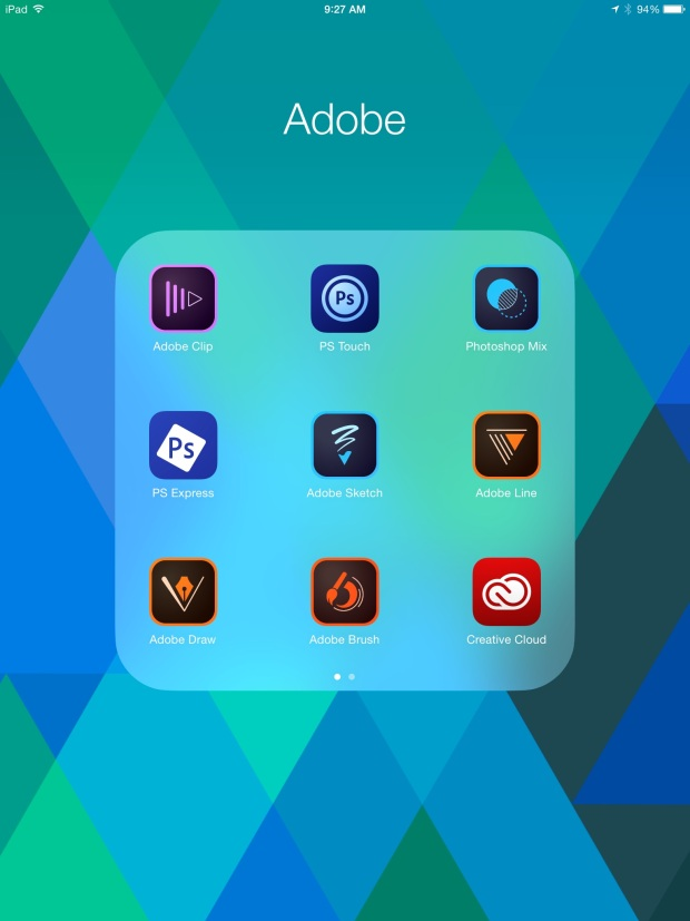 adobe creative cloud ipad apps