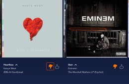 Swipe back to undo Pandora thumbs down accidents quickly.
