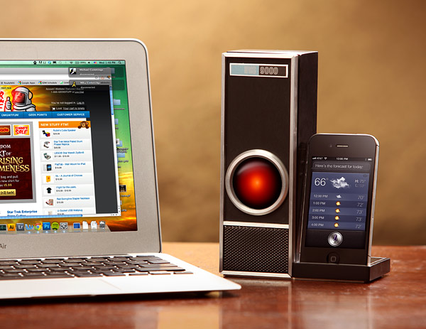 IRIS 9000 voice control system for iPhone 4s and Siri