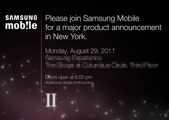 Galaxy S II Event