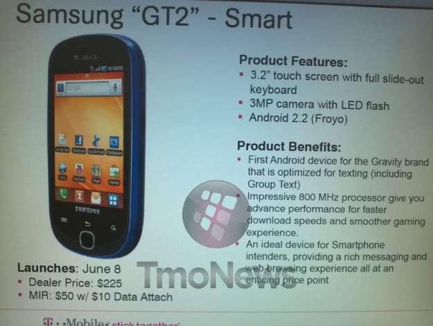 Samsung Gravity Touch 2