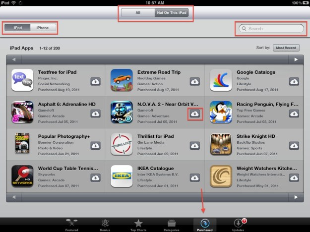 iOS 5 lost apps recover
