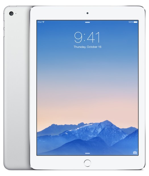 iPad Air 2 Colors - silver