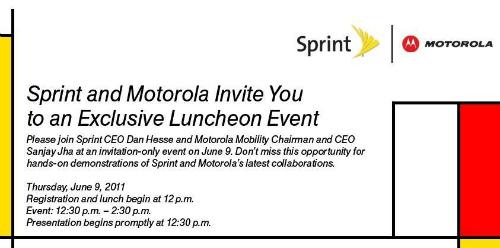 Motorola, Sprint Invite
