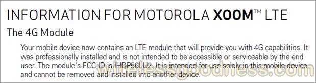 Xoom LTE