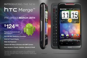 HTC Merge Pre-Order