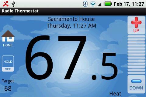 radio thermostat Android app