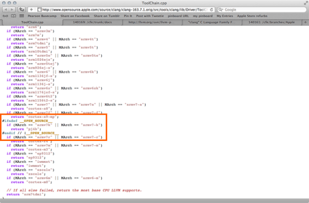 Apple Source Code
