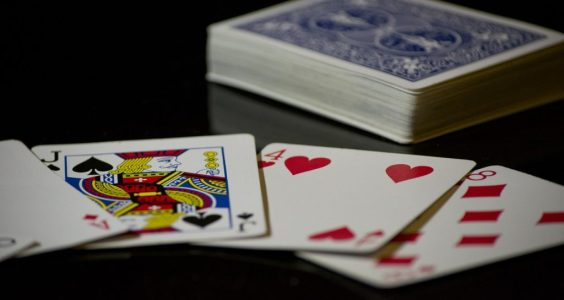 Image of a draw from a deck of cards