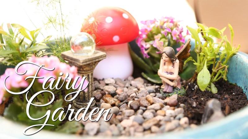 Large Of Diy Fairy Garden