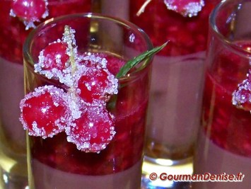 Groseilles cristallisées