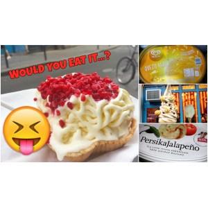 Simple Gourmandize Menu Enter A Recipe Weird Ice Cream Flavors Around World Homemade Fireball Ice Cream Fireball Ice Cream Truck