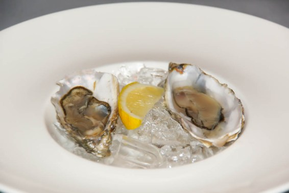 Das Maximilians - Einige frische Austern vorweg